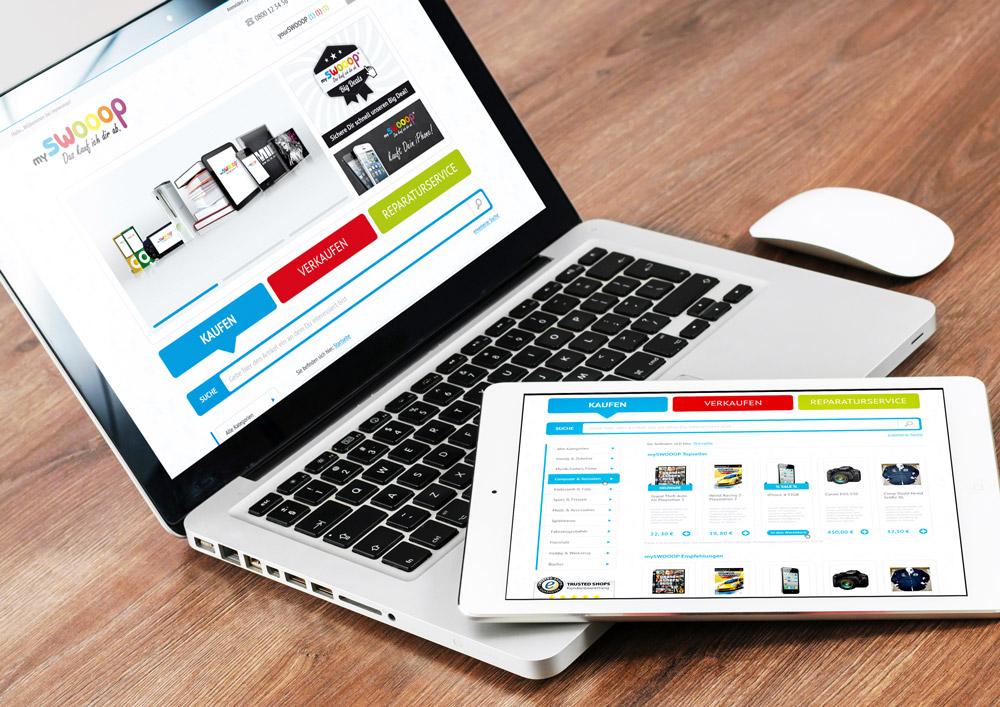 MySwooop - E-Commerce Shop