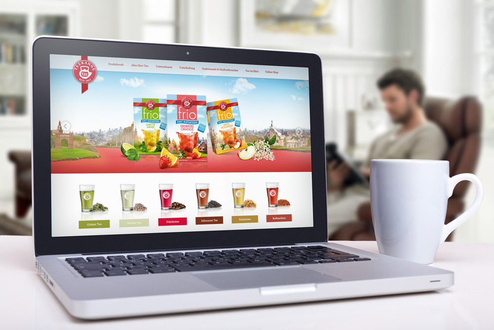 Teekanne - Webdesign