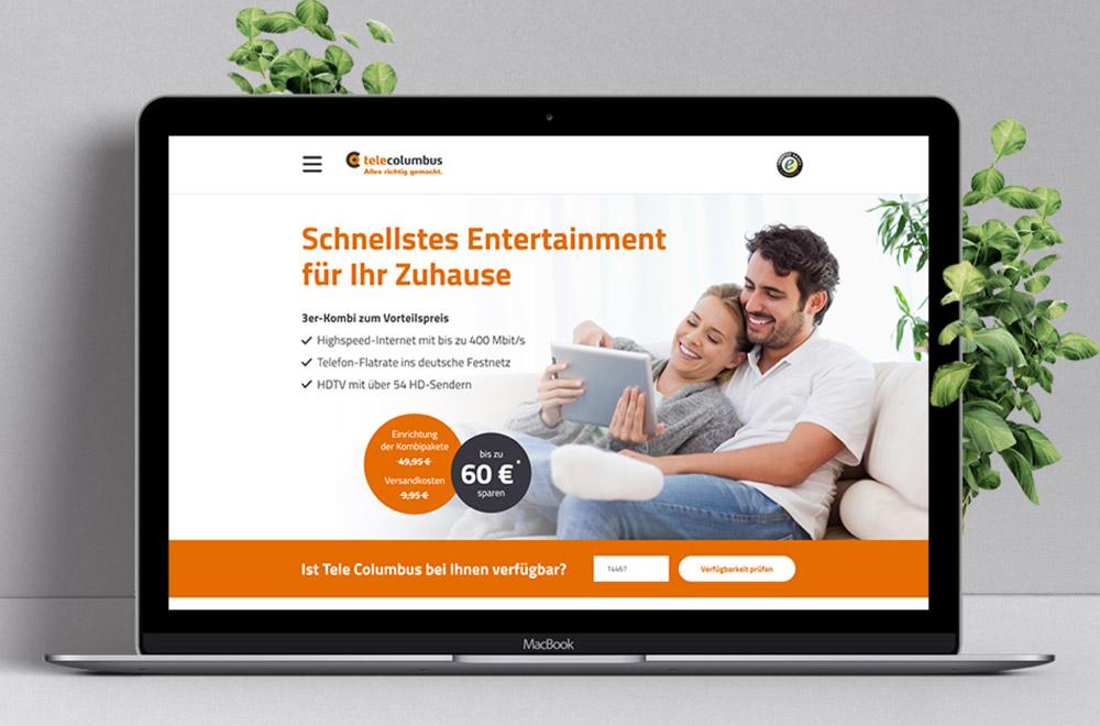 Tele Columbus - Webseitenrelaunch